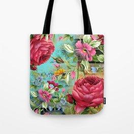 Vintage flowers #11 Tote Bag