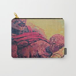 Two Sided Reception / Power of A Woman Carry-All Pouch