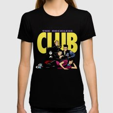 The Reckless Club Womens Fitted Tee Black X-LARGE