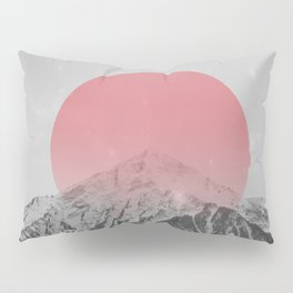 Dreaming of Pink Mountains Pillow Sham