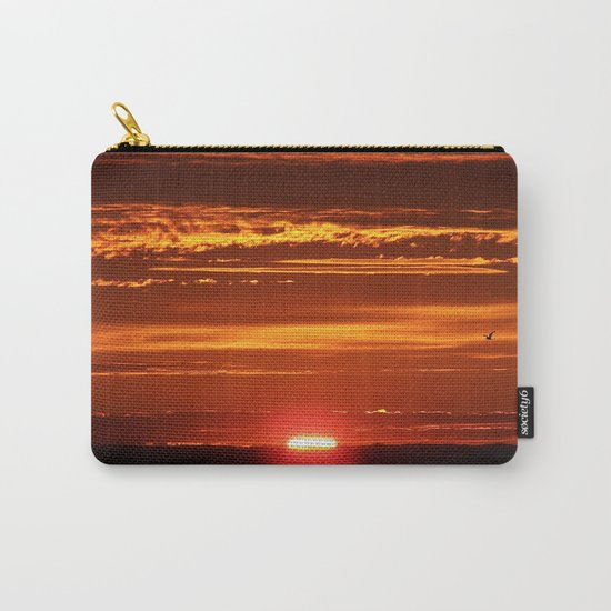 Red Sky Flight Carry-All Pouch