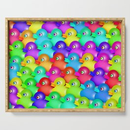 Rubber Duckies Serving Tray