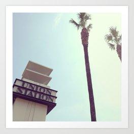 Union Station - Los Angeles Art Print