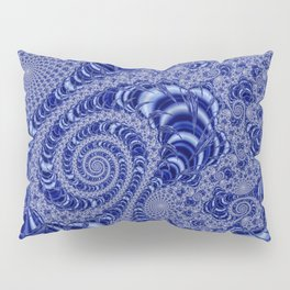 Jeweler's Dream (Blue with White Lace) Pillow Sham