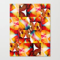 tapestry Canvas Prints featuring Tapestry by Jose Luis