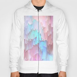 Pastel Glitches Fall Hoody
