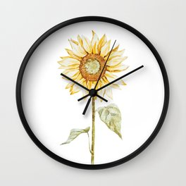 Sunflower 01 Wall Clock