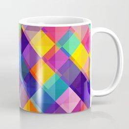 SQUARE--PATTERN Coffee Mug