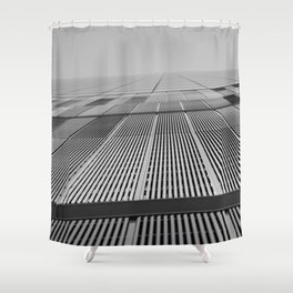 NEW YORK BUILDING.  Shower Curtain