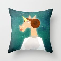 You're my only Horn Throw Pillow