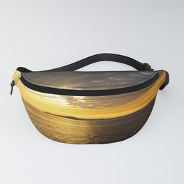 Storm at Sunset Fanny Pack