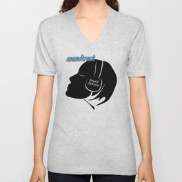The music of the future 3 Unisex V-Neck