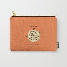 Cartwheeling Cinnamon Roll Carry-All Pouch