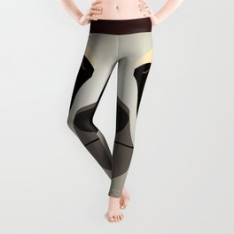 2D sloth Leggings