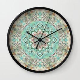 Jungle Kaleidoscope 2 Wall Clock