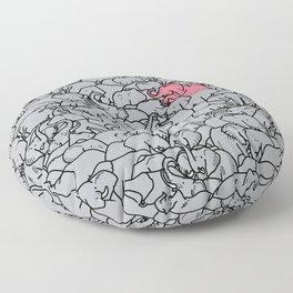 Word 2 the Herd v1 Floor Pillow