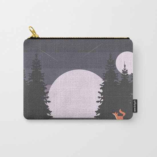 Two Moon Night Carry-All Pouch