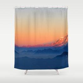 Presence of Sun Shower Curtain