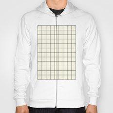 simple grid Hoody