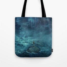 Lost in the ocean Tote Bag