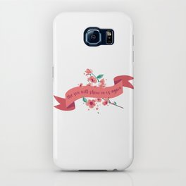 The sun will shine on us again iPhone Case
