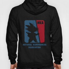 National Kamehameha Association Dragon Ball Goku T-Shirts Hoody