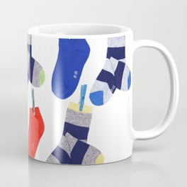 striped socks Coffee Mug