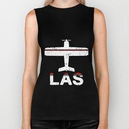 Fly Las Vegas Womens LAS las vegas Biker Tank
