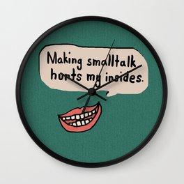 Smalltalk Hurts Wall Clock