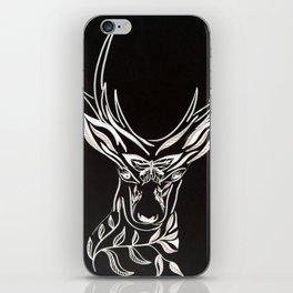 Black Deer iPhone Skin