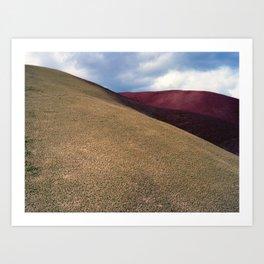 Paint Hills Art Print