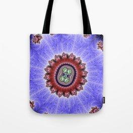Fractal Hourglass Tote Bag