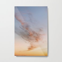 Ethereal Sunset – Cloudscape Metal Print