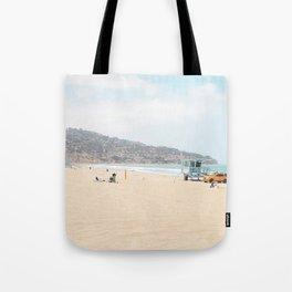 Redondo Beach // California Ocean Vibes Lifeguard Hut Surfing Sandy Beaches Summer Tanning Tote Bag