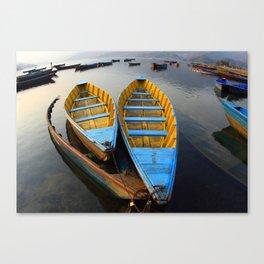 Boats Leinwanddruck