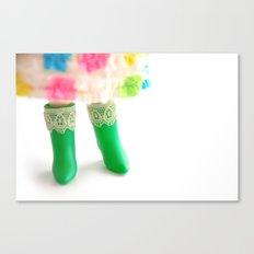 Blythe boots Canvas Print