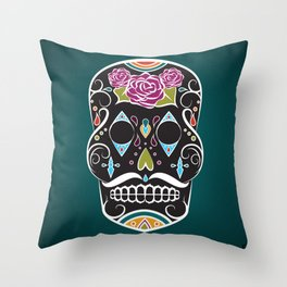 Two Sides of Lonely (2) Throw Pillow