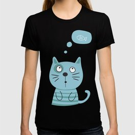 What is kitty thinking? T-shirt