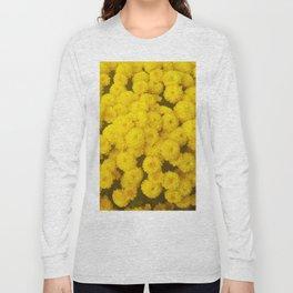 Autumn Gold - Chrysanthemums Long Sleeve T-shirt