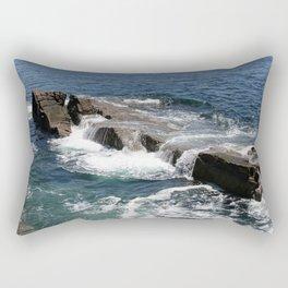 High Tide Maine Rectangular Pillow