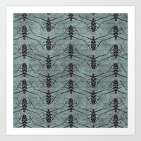 insects Art Prints featuring Insects by LaMoret