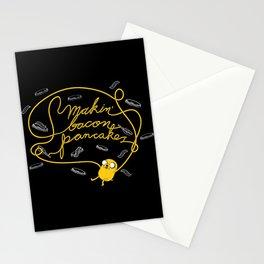 Jake Makin' Bacon Pancakes Stationery Cards