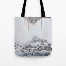 Between Earth & City III Tote Bag