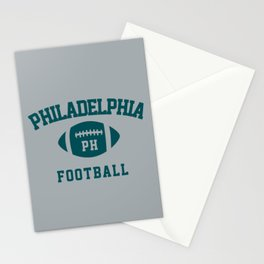 Philadelphia Football  Stationery Cards