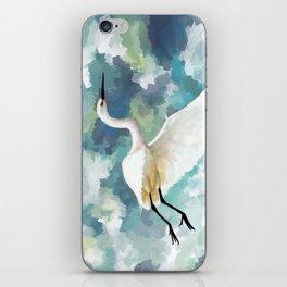 Florida Egret iPhone Skin