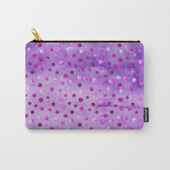 Polka Dot Pattern 02 Carry-All Pouch