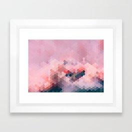PINKY MINKY Framed Art Print