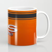 sport Mugs featuring Chevy Super Sport 396 by Wood-n-Images