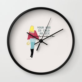YOUR A** Wall Clock