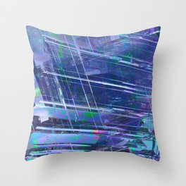 Blue Dream 02 Throw Pillow